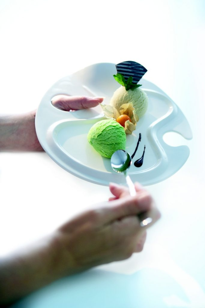 Assiette Easy Serve